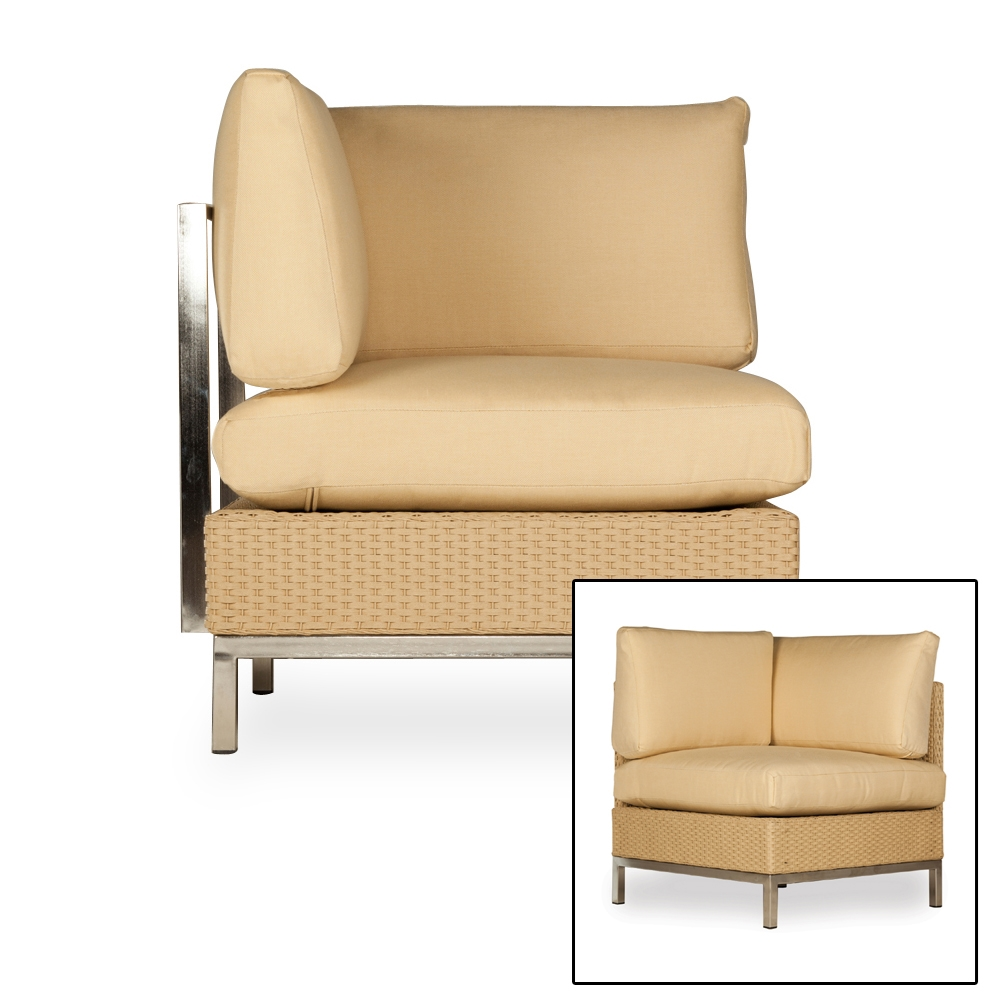 Lloyd Flanders Elements Corner Sectional Chair   203354 203054