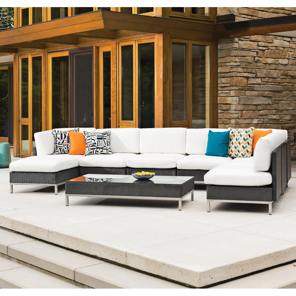 Lloyd Flanders Elements Large Sectional Set - LF-ELEMENTS-SET7