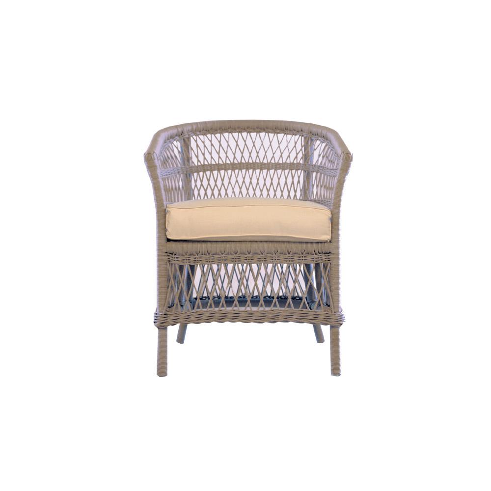 ... Lloyd Flanders Fairhope Barrel Dining Chair   271013; Fairhope Vinyl  Wicker ...