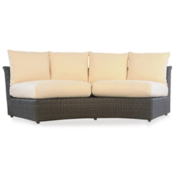 Lloyd Flanders Flair Curved Sectional Sofa - 215056