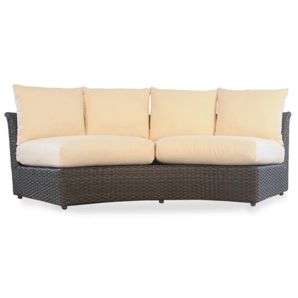 Lloyd Flanders Flair Curved Sectional Sofa - 215056  sc 1 st  USA Outdoor Furniture : curved sectional patio furniture - Sectionals, Sofas & Couches