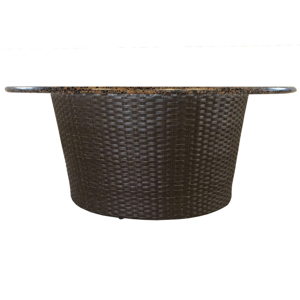Lloyd Flanders Flair Round Fire Pit Table   215099 ...