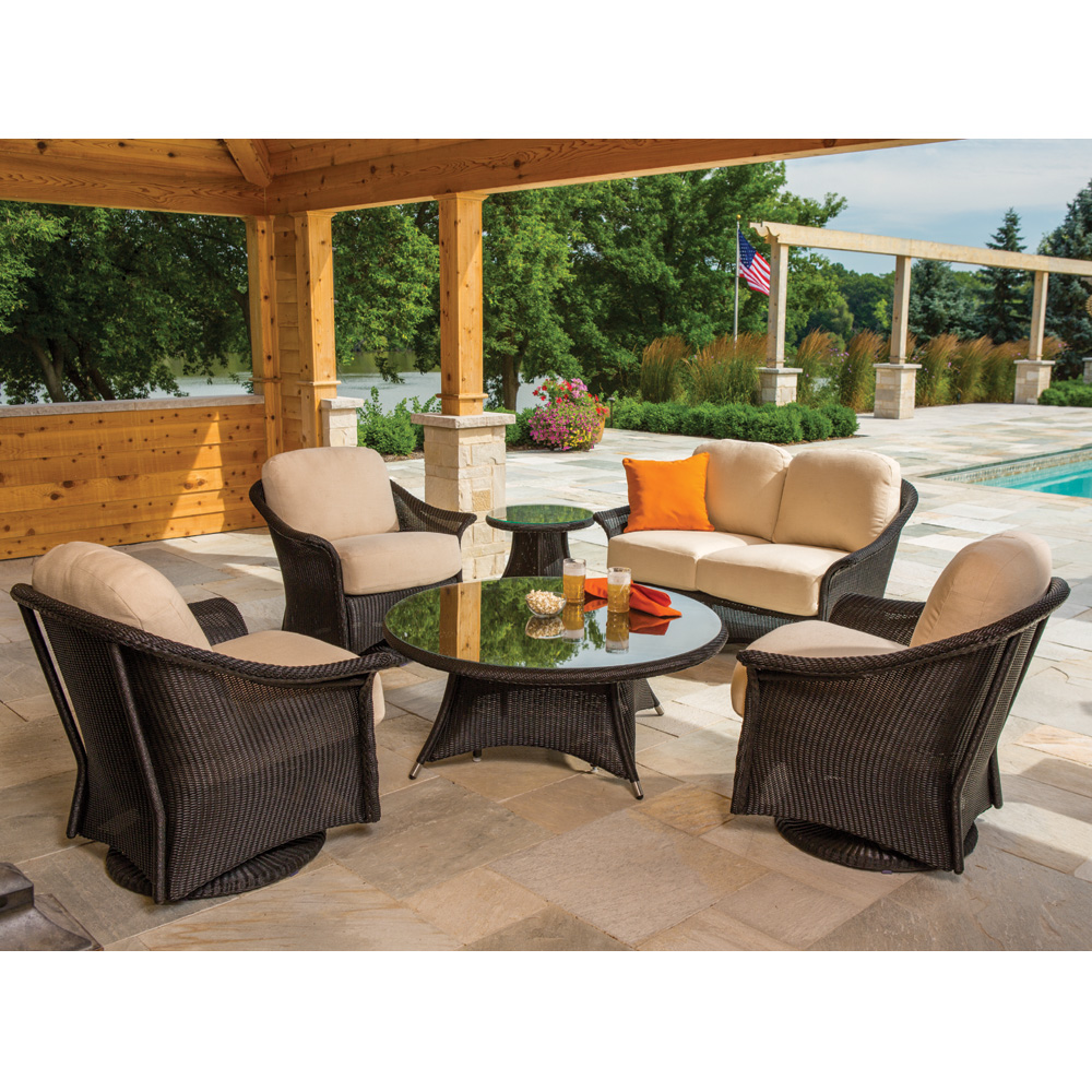 Lloyd Flanders Generations Outdoor Wicker Set - LF-GENERATIONS-SET6