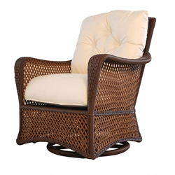 Lloyd Flanders Grand Traverse Swivel Glider Lounger Chair - 71391