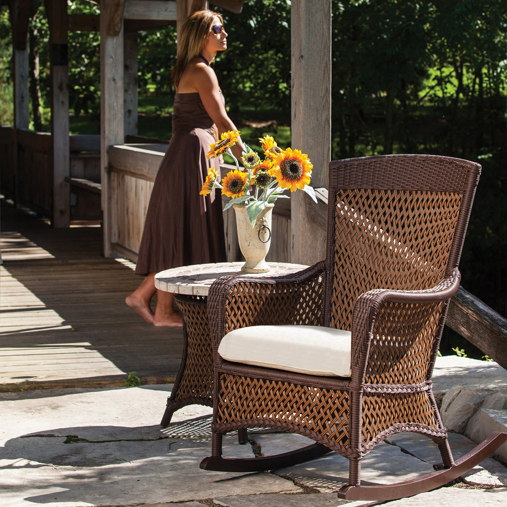 Lloyd Flanders Grand Traverse 2 Piece Rocking Chair Set    LF GRANDTRAVERSE SET13