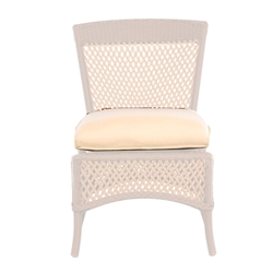 Lloyd Flanders Grand Traverse Armless Dining Chair Cushion - 71907