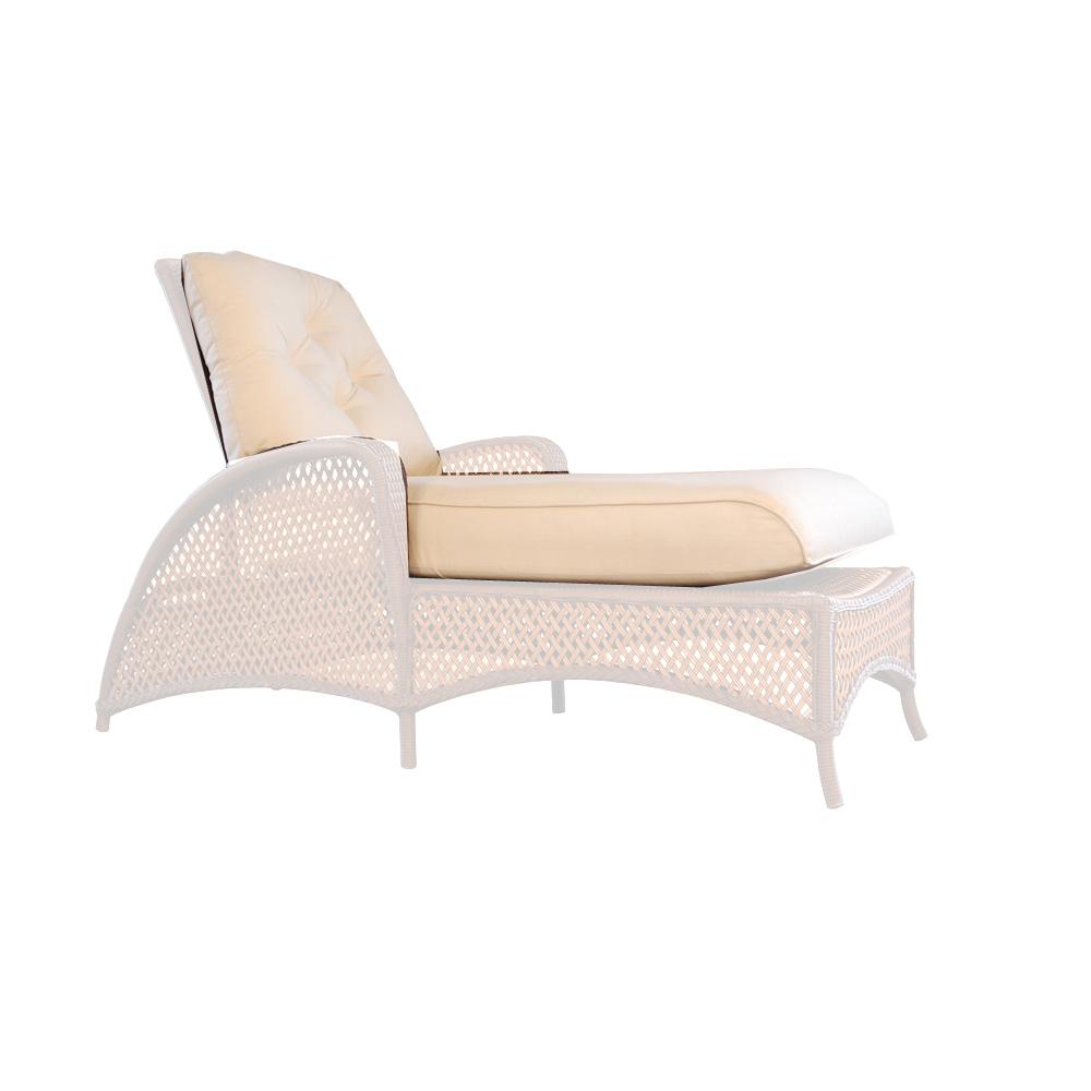 Lloyd Flanders Grand Traverse Adjustable Chaise Cushions