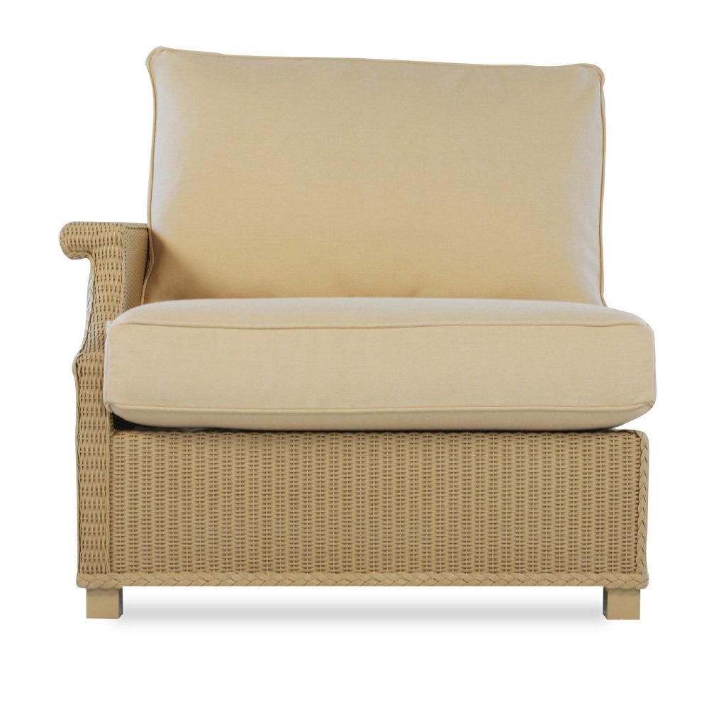 Lloyd Flanders Hamptons Wicker Patio Lounge Chair Set Lf Hamptons Set1