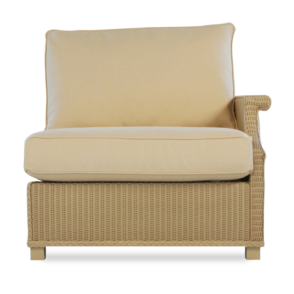 Lloyd Flanders Hamptons Left Arm Sectional Chair - 15052