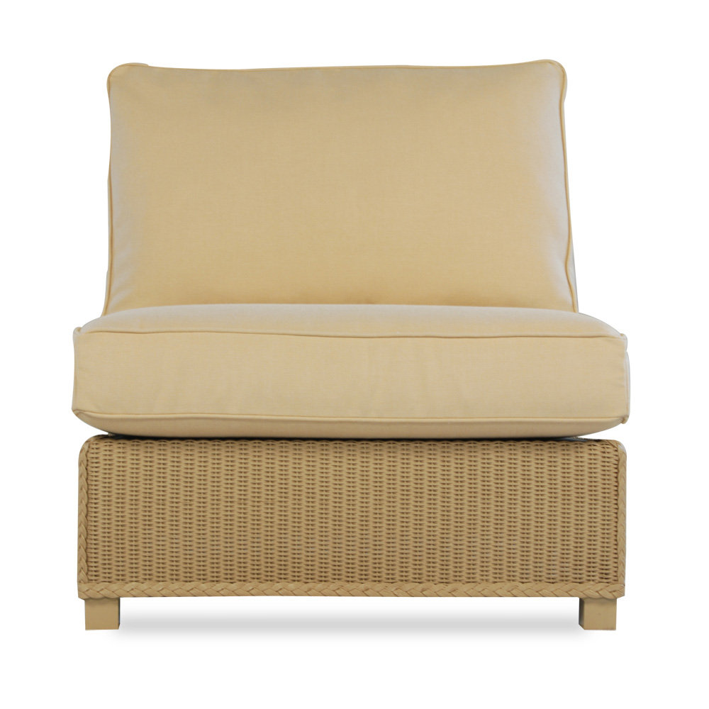 Lloyd Flanders Hamptons Armless Sectional Chair   15053