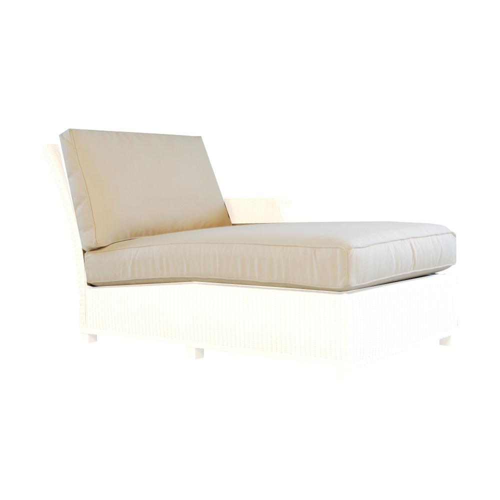 Lloyd Flanders Hamptons Left Arm Chaise Cushions 15922