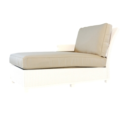 Lloyd Flanders Hamptons Right Arm Chaise Cushions - 15922-15722
