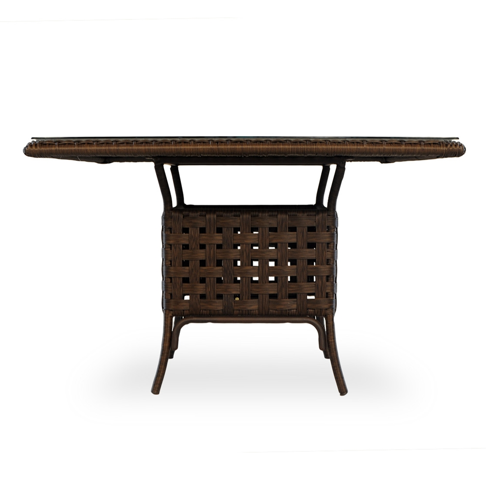 Lloyd Flanders Haven Square Vinyl Wicker 48 Quot Dining Table