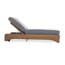 Lloyd Flanders Single Adjustable Pool Chaise - 6020