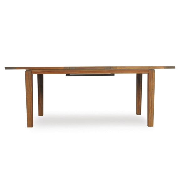 Flanders Distressed Teak Expanding Rectangle Dining Table 286095