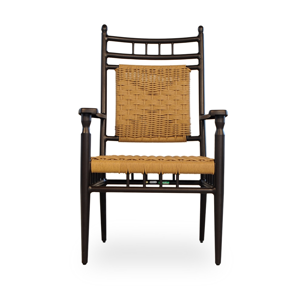 Outdoor dining furniture outdoor dining sets lloyd flanders dining - Low Country 9 Piece Woven Vinyl Patio Dining Set Lf Lowcountry Set6