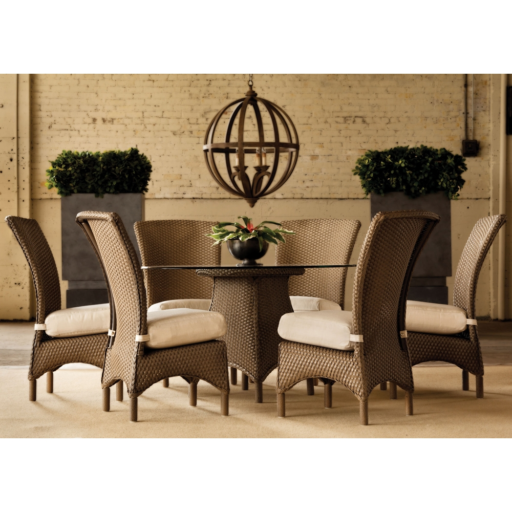 Lloyd Flanders Mandalay 7 Piece Dining Set