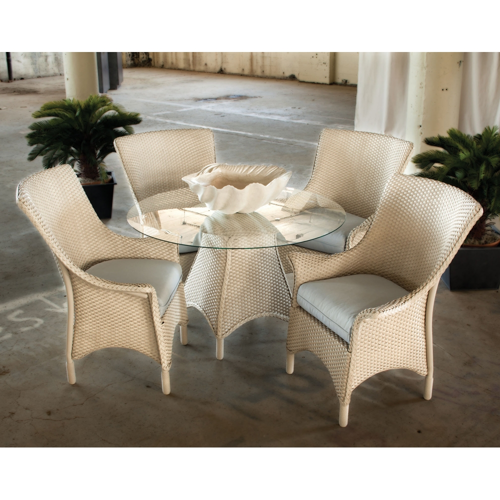 Lloyd Flanders Mandalay 5 Piece Dining Set