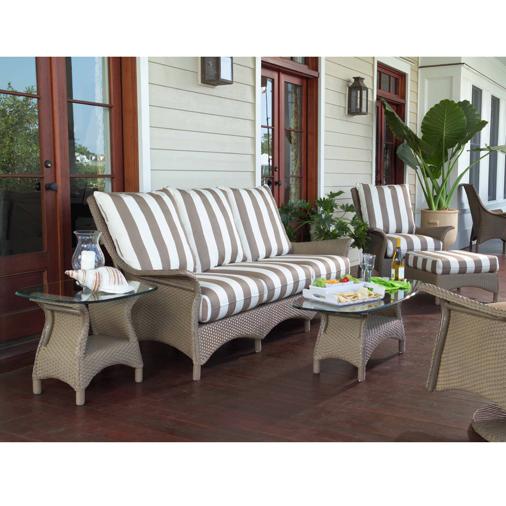 Lloyd Flanders Mandalay 5 Piece Patio Sofa Set - LF-MANDALAY-SET8