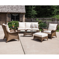 Lloyd Flanders Mandalay 7 Piece Patio Sofa Set - LF-MANDALAY-SET9