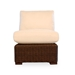 Mesa Large L-Shaped Wicker Sectional Set with Teak Tables - LF-MESA-SET4
