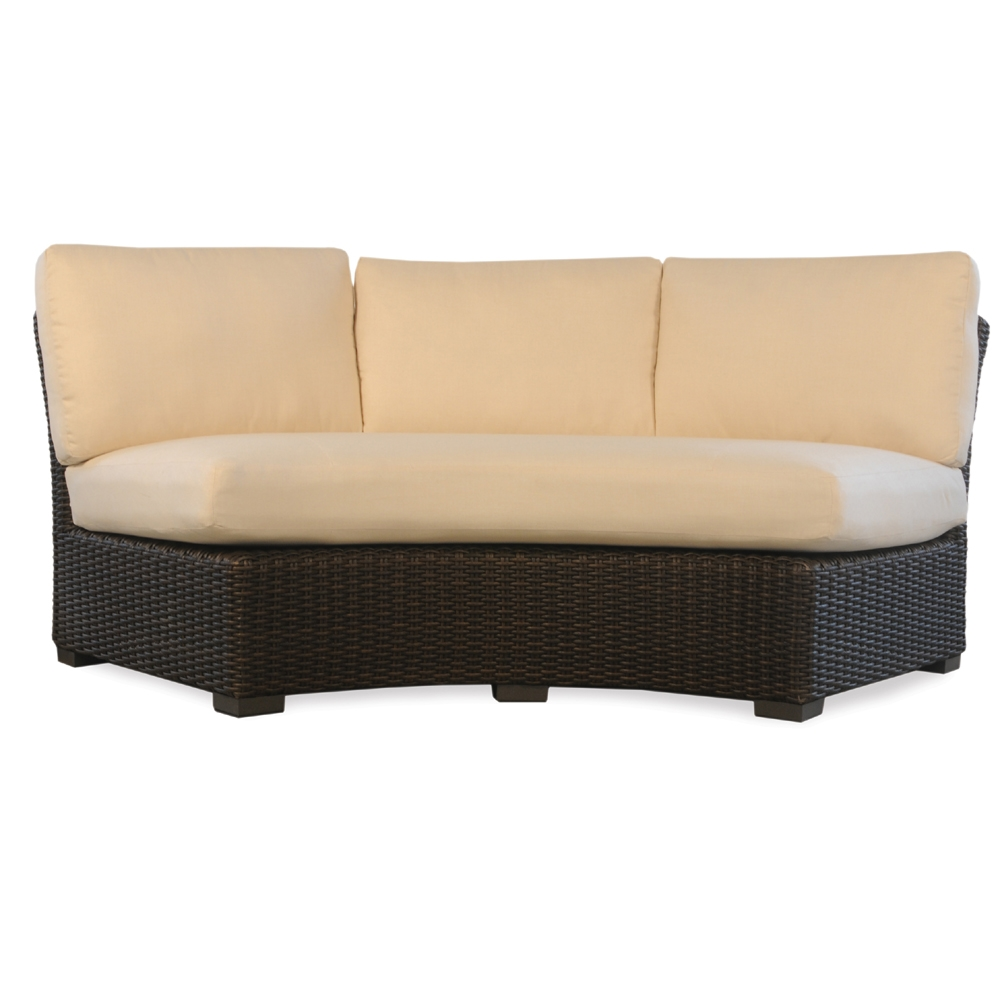 Furniture Covers Wicker Patio Curved Sectional Sofa
