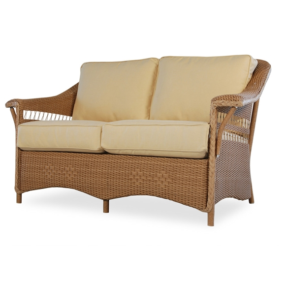 Lloyd Flanders Nantucket Wicker Loveseat 51050