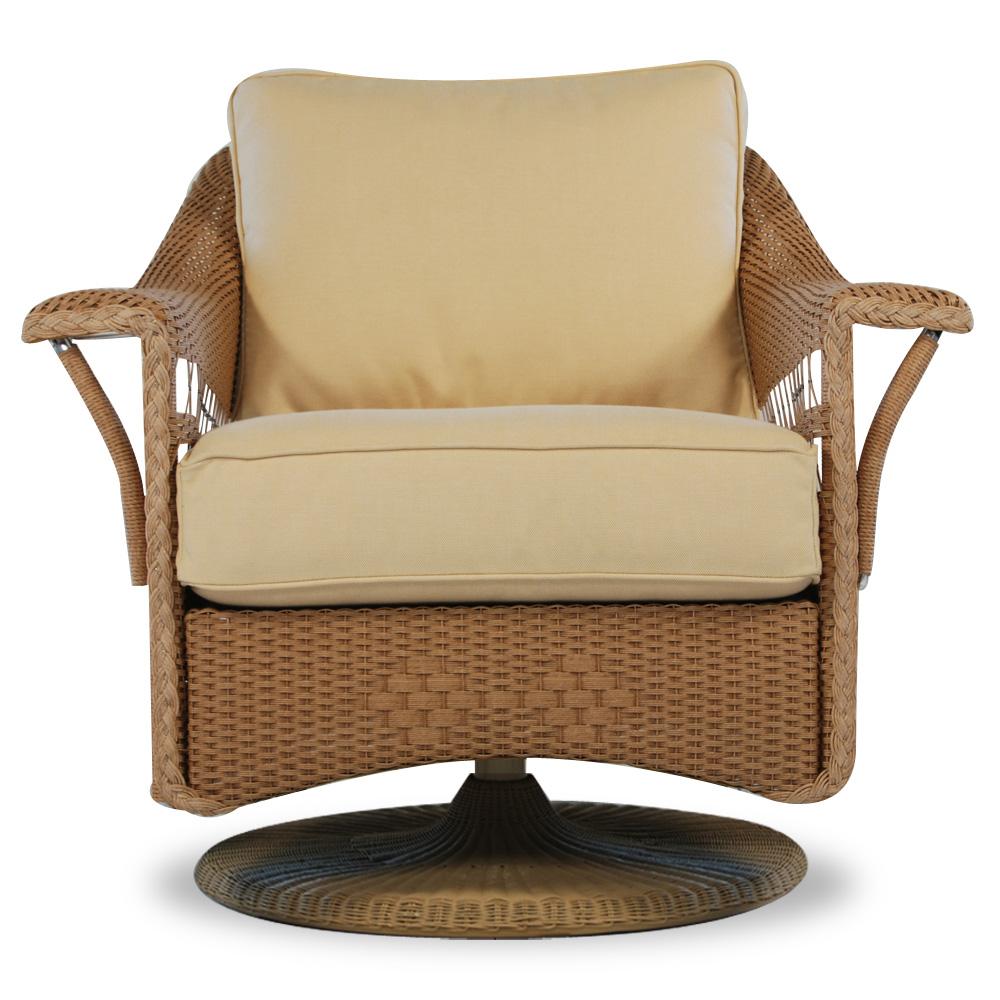 Lloyd Flanders Nantucket Wicker Sofa And Swivel Glider Set