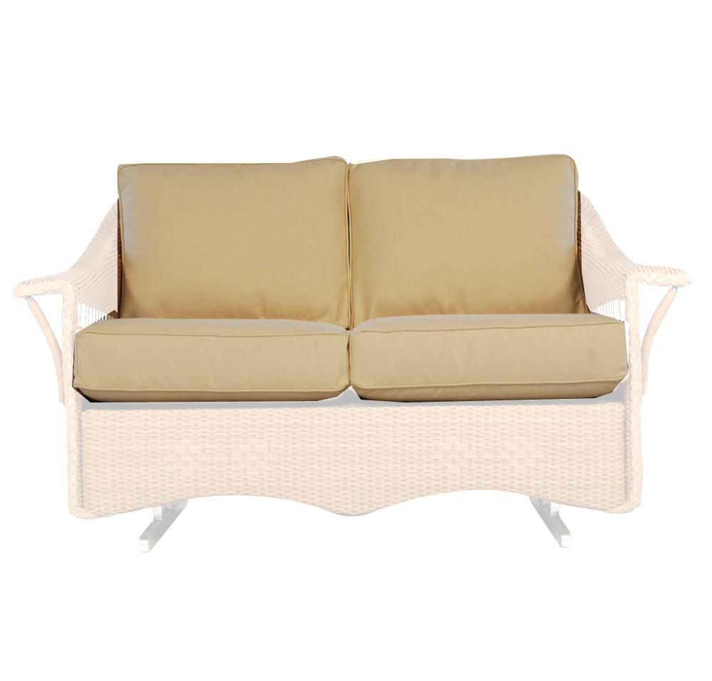 Lloyd Flanders Nantucket Love Seat Glider Cushions 51950