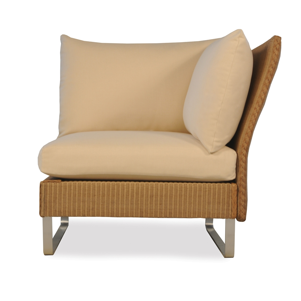 Lloyd Flanders Nova Left Sitting Corner Sectional Chair - 111052  sc 1 st  USA Outdoor Furniture : sectional chair - Sectionals, Sofas & Couches