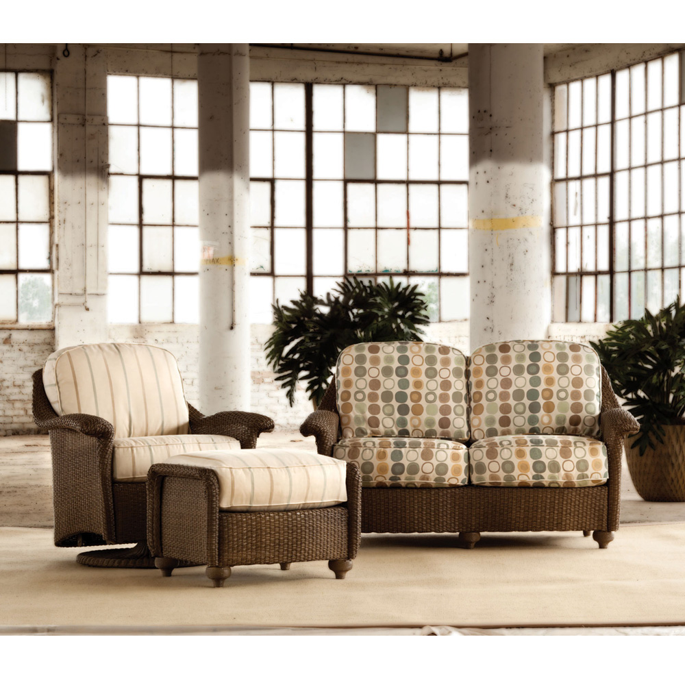 Lloyd Flanders Oxford 3 Piece Patio Set