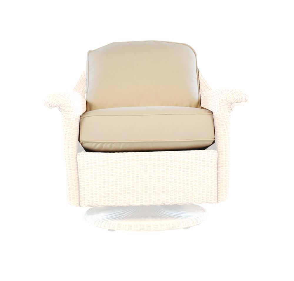 Lloyd Flanders Oxford Lounge Swivel Glider Cushions
