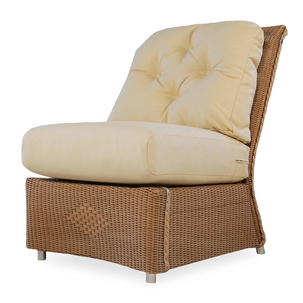 Merveilleux Lloyd Flanders Reflections Slipper Chair   9057