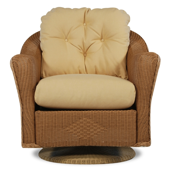 Lloyd Flanders Reflections Wicker Swivel Rocker 9080