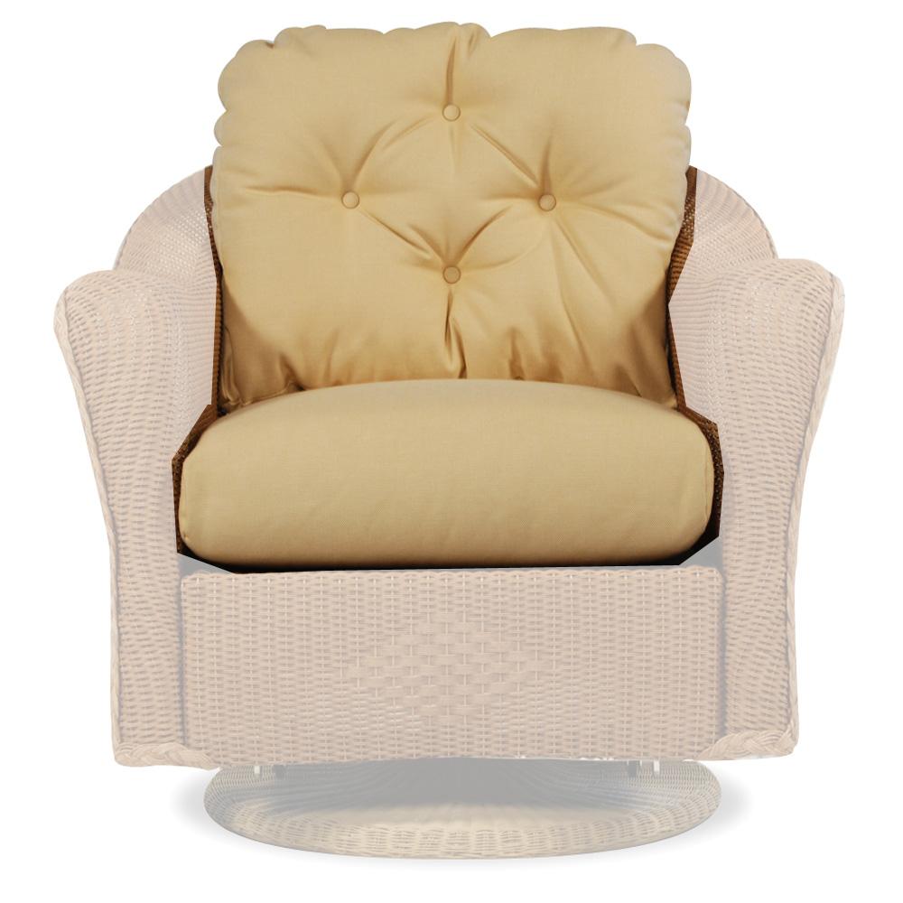 Lloyd Flanders Reflections Lounge Swivel Glider Cushions