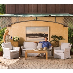 Lloyd Flanders Sea Island Patio Lounge Set - LF-SEAISLAND-SET1