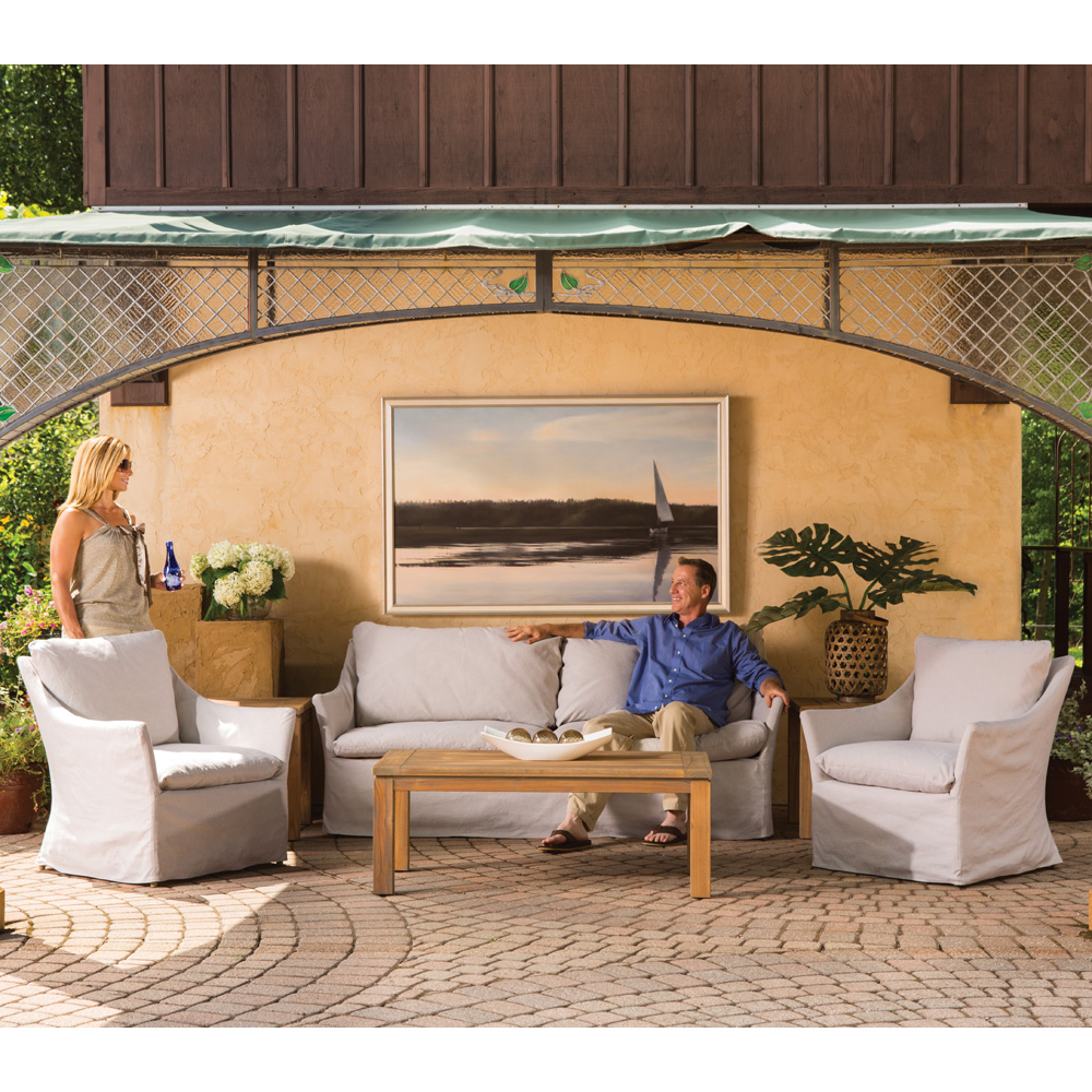 Lloyd Flanders Sea Island Patio Lounge Set   LF SEAISLAND SET1 ...