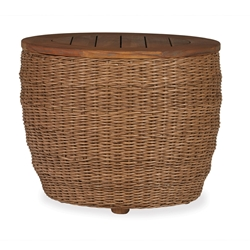 Lloyd Flanders Tobago Barrel End Table - 226043