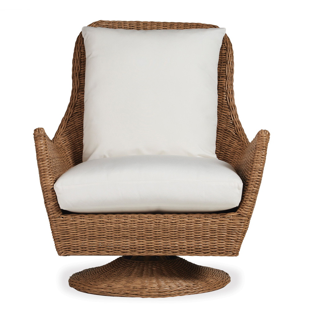 Lloyd Flanders Tobago High Back Swivel Lounge Chair   226080