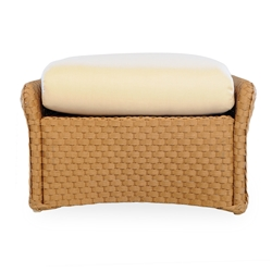 Lloyd Flanders Weekend Retreat Woven Ottoman - 72027