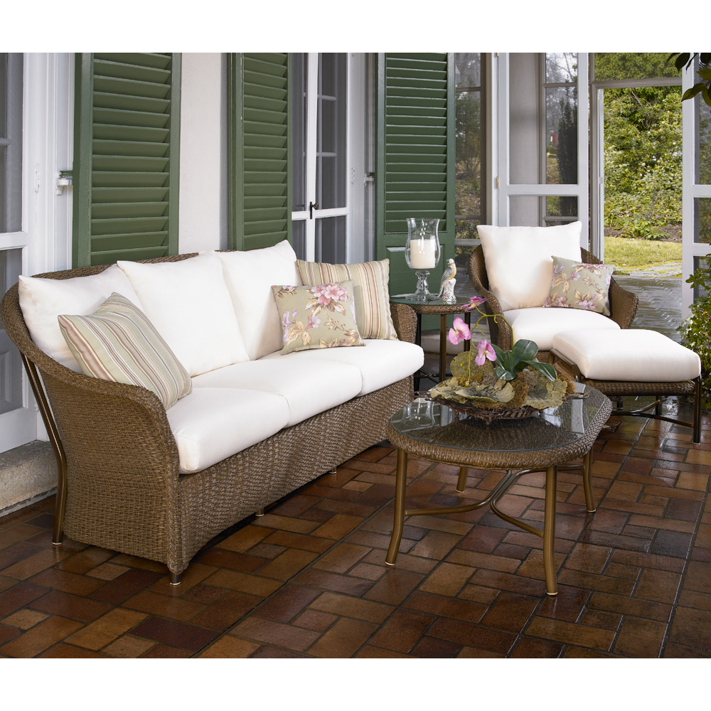 Lloyd Flanders Weekend Retreat 5 Piece Patio Set