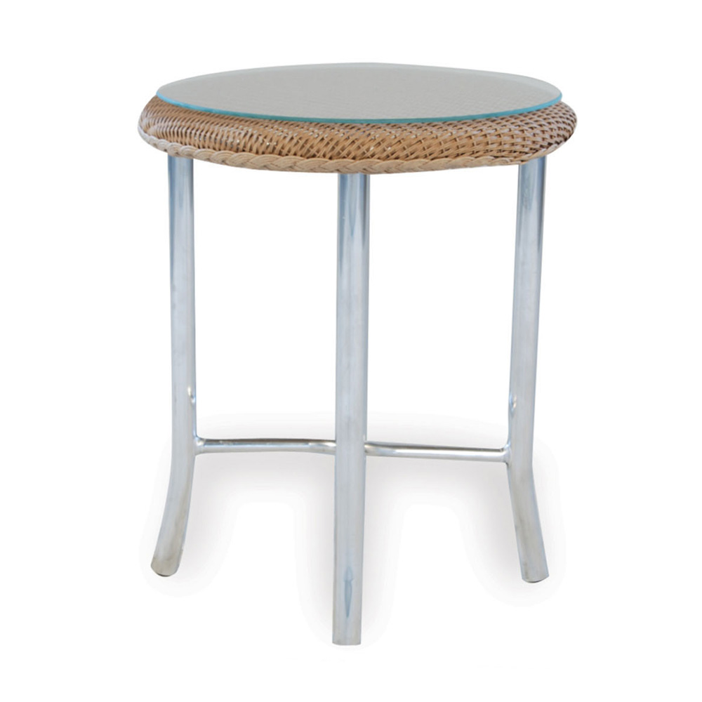 Lloyd Flanders Weekend Retreat Round End Table - 86120