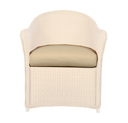 Lloyd Flanders Weekend Retreat Dining Arm Chair Cushion - 72901