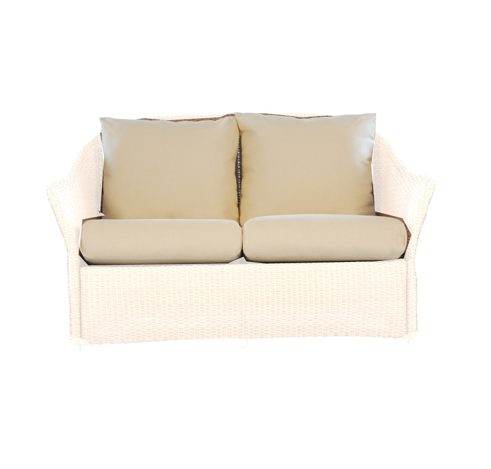 Lloyd Flanders Weekend Retreat Love Seat Cushions 72950