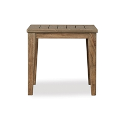 Lloyd Flanders Wildwood Square Tapered Leg End Table  - 135043