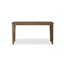 Lloyd Flanders Wildwood 58 Inch Rectangular Tapered Leg Console Table - 135049