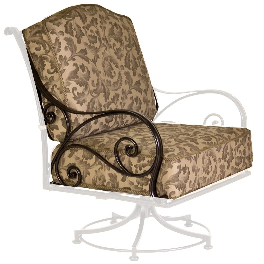 Ow Lee Ashbury Swivel Rocker Lounge Chair Cushions Owc 81 Sr