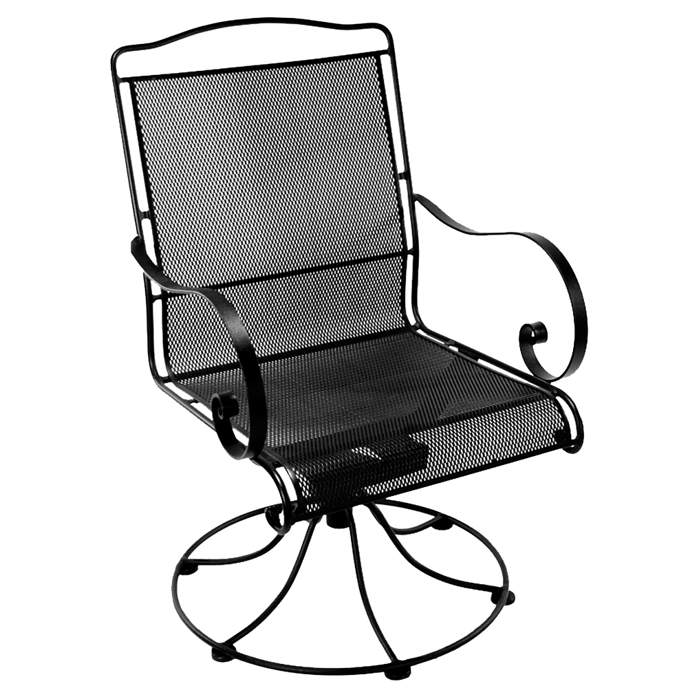 OW Lee Avalon Swivel Rocker Dining Arm Chair - 4374-SR