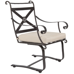 OW Lee Bellini Spring Base Dining Arm Chair - 4153-SB