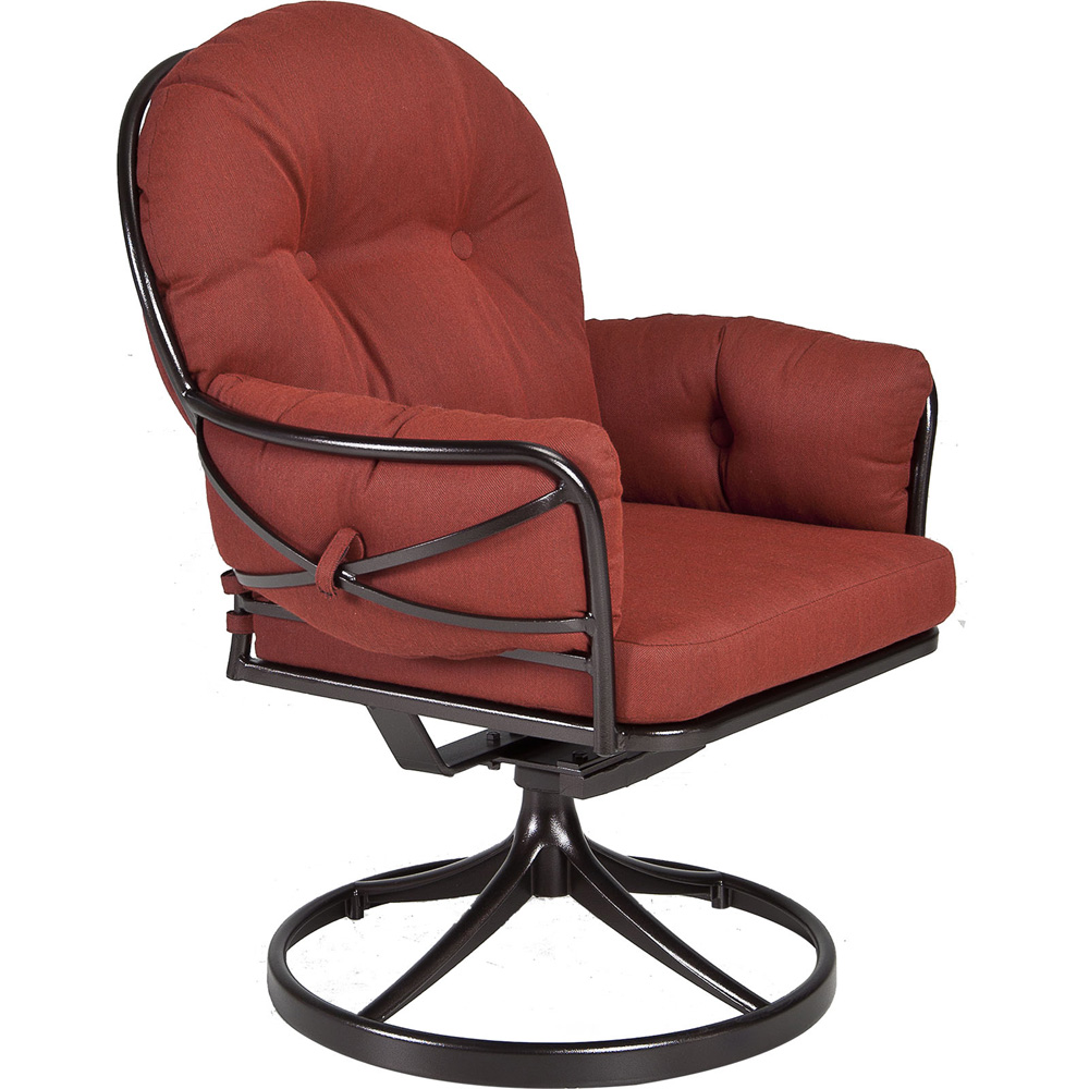 OW Lee Cambria Swivel Rocker Club Dining Arm Chair - 17133-SR